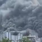 CHINE : LE LABORATOIRE DE RECHERCHE DE HUAWEI À DONGGUAN CITY EST EN FEU.