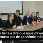 Covid – 19 : L'alliance Mondiale des Médecins dénonce les mesures sanitaires /  The World Alliance of Doctors denounce health measures