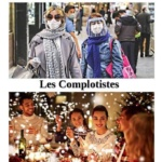 L'image du jour : Les gens normaux et les complotistes / Picture of the Day : Normal People and Conspirators