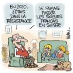 L'image du jour : La résistance Suisse s'organise /  Image of the day : The Swiss resistance is organizing