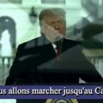Trump lance l'assaut contre le Capitol 6 janvier 2021 /  Trump launches assault on Capitol January 6, 2021
